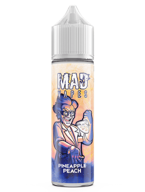 Mad Vapes - Pineapple Peach 40ml