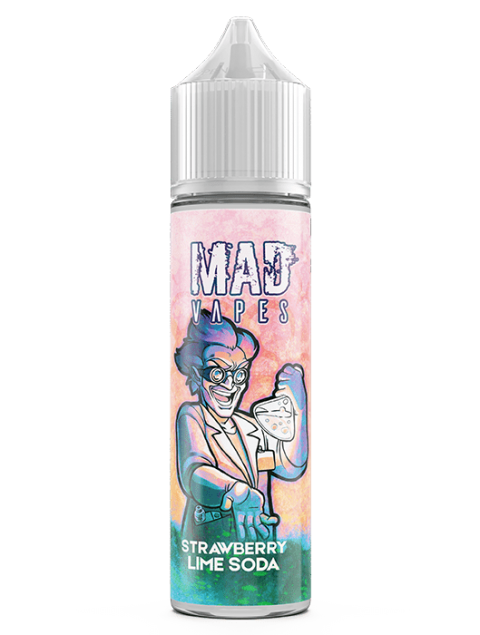 Mad Vapes - Strawberry Lime Soda 40ml