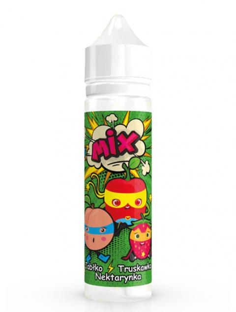 MIX - Jabłko Truskawka Nektarynka 40ml /Aromat do tytoniu/