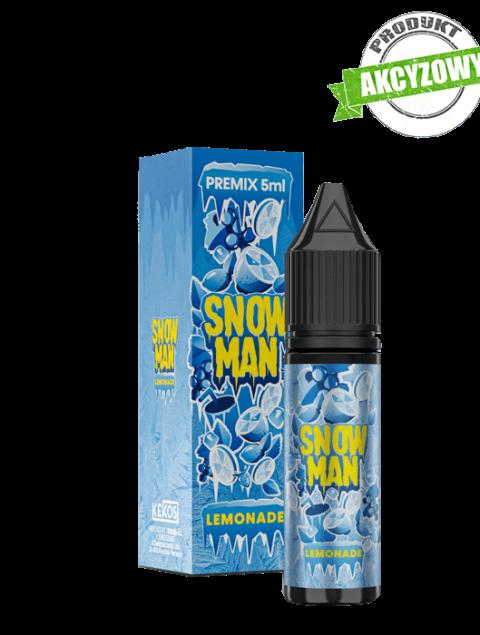 SnowMan Premix - Lemonade 5ml