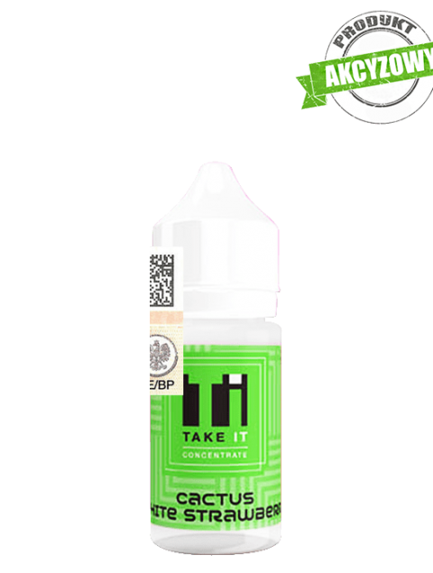 Take It Longfill Premix - Cactus White Strawberry 10ml